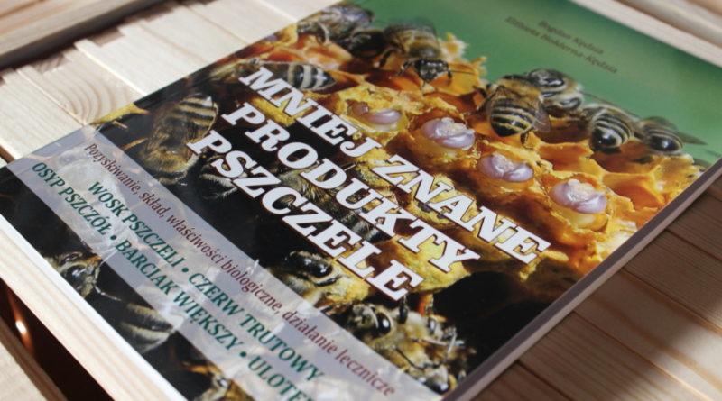Recenzja książki Mniej znane produkty pszczele