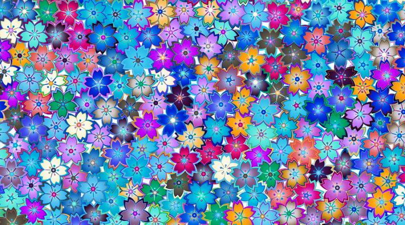 Niebieskie kwiaty do ogrodu