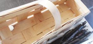 Koszyczek na domek dla pszczół