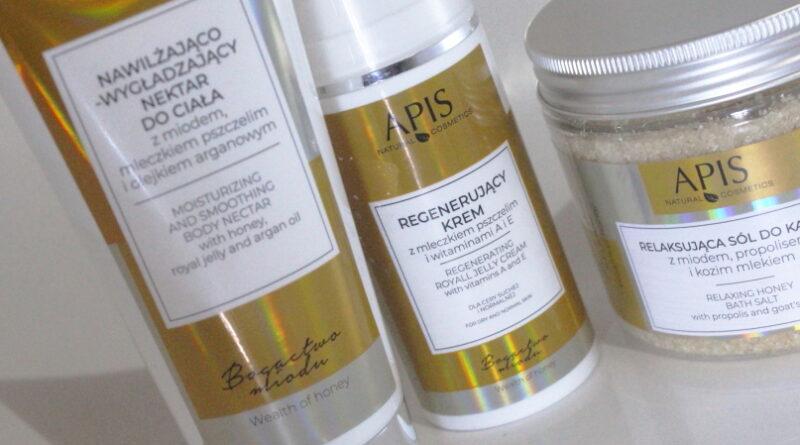 Kosmetyki Apis, seria miodowa