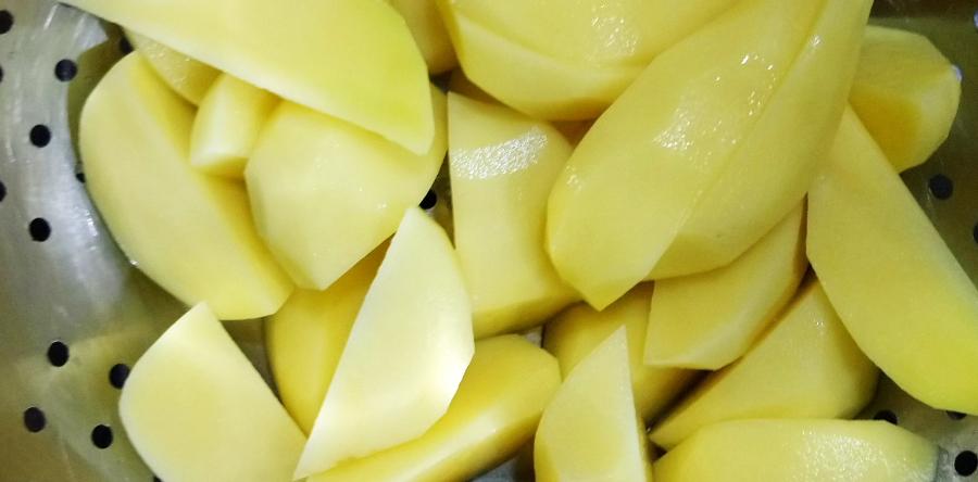 Ziemniaki pieczone z miodem - przepis