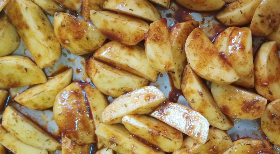 Ziemniaki w zalewie